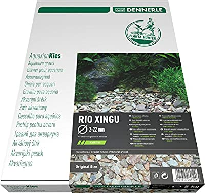 Dennerle 6912 Naturkies Plantahunter Rio Xingu Mix, 2-22mm