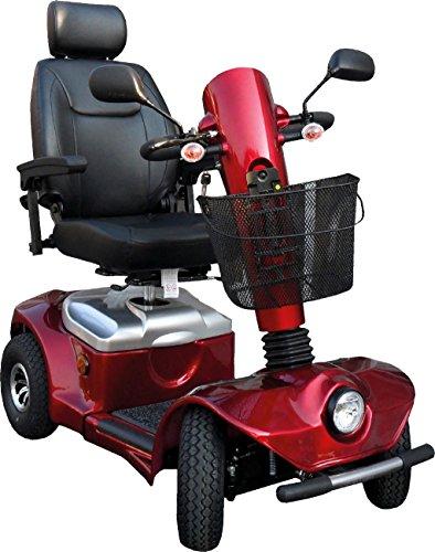 Elektromobil Scooter Spirit, 4 Räder, 15 km/h, Elektro-Scooter mit Reichweite bis 40 km, Vollfederung, 24 Monate Full Service vor Ort