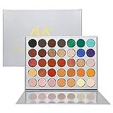 Veganen Lidschattenpalette, Lidschatten-Make-Up-Palette von Valuemakers Cosmetics mit 35 Lidschatten Pro Fall Eye shadow