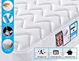 Double Mattress with Memory Foam, 4FT6 Double 3D Breathable Fabric Mattress Pocket Sprung Mattress with 9-Zone Support System-8.7Inch Depth-100 Nights Trial