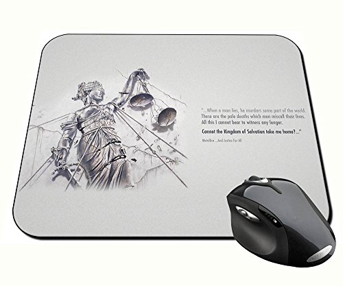 Preisvergleich Produktbild Metallica And Justice for All B Mauspad Mousepad PC