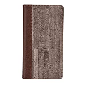 Jo Jo Cover Bark Series Leather Pouch Flip Case For Acer Liquid Z200 Brown