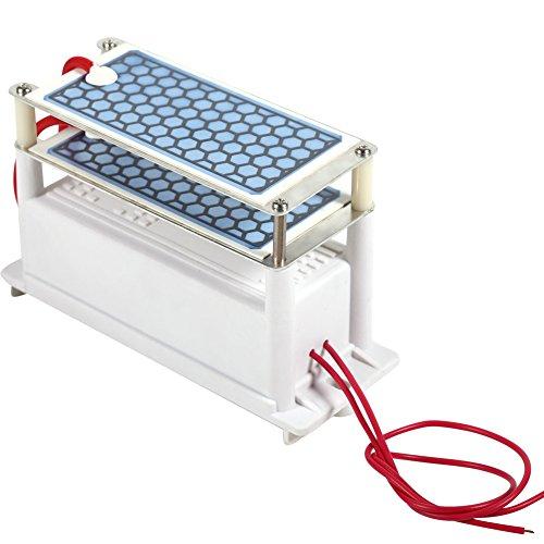 Fdit Tragbarer Ozon Generator AC220V doppelte integrierte keramische Platten Luft Ozonisator Luft sterilisieren Luftreiniger Maschinen