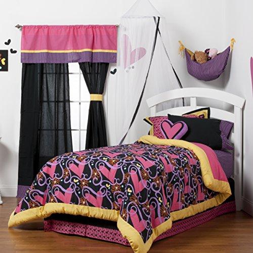 One Grace lugar Sassy Shaylee bolsa para juguetes, color morado, negro, y amarillo