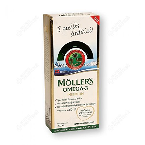 MÖLLER'S OMEGA-3 PREMIUM 250ml