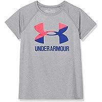 Under Armour Mädchen UA Solid Big Logo Ss T Kurzarmshirt