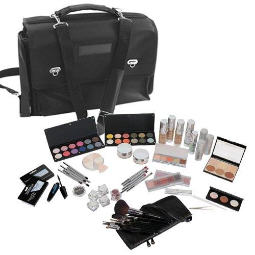 Kit maquilleur professionnel complet et son sac de transport