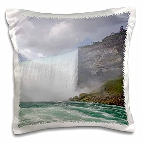 Danita Delimont - Niagara Falls - Waterfalls, Niagara Falls, Ontario, Canada - CN08 CMI0065 - Cindy Miller Hopkins - 16x16 inch Pillow Case (pc_135358_1)