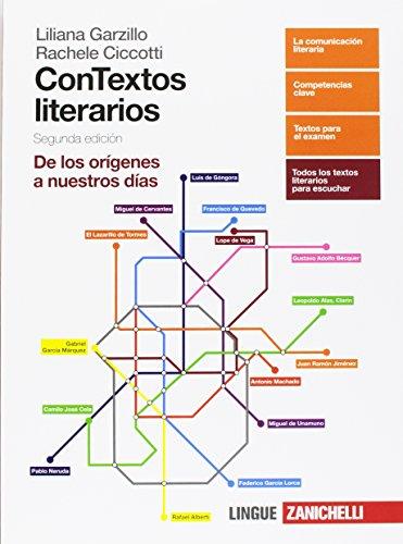 Contextos literarios. Volume unico. Per le Scuole superiori. Con aggiornamento online