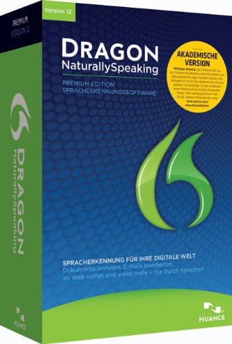 Nuance Dragon Naturally Speaking 12.0 Premium Akademische Version