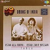D O I-Tabla-Alla Rakha/Zakhir-Drums