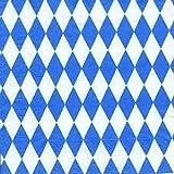 Geschenkpapier Rolle 2mx70cm Bayerische Raute Liefermenge = 5
