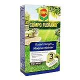 COMPO FLORANID Rasendünger mit Moosvernichter, 3 Monate Langzeitwirkung, Feingranulat, 3 kg, 100 m²