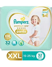 Pampers Premium Care Pants Diapers, XX-Large (32 Count)