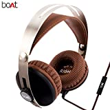 #8: boAT BassHeads 800 Super Extra Bass Wired Headphones with Mic (Brown)