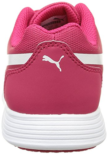 Puma St Trainer Evo Jungen Sneaker Rot - Rouge (Rose Red/White)