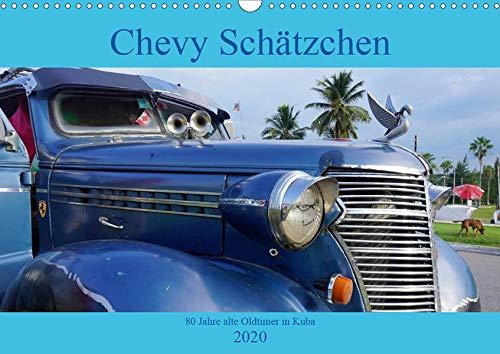 Chevy Schätzchen - 80 Jahre alte Oldtimer in Kuba (Wandkalender 2020 DIN A3 quer): Der Oldtimer Chevrolet Master in Kuba (Monatskalender, 14 Seiten ) (CALVENDO Mobilitaet) -