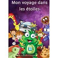 """Livre personnalisé pour enfants """"Mon voyage dans les étoiles"""" relié à la main - cadeau personnalisé - roman - interactif - fait main"""