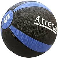 trenas Gummimedizinball PRO - Der professionelle Medizinball - 1 bis 5 KG