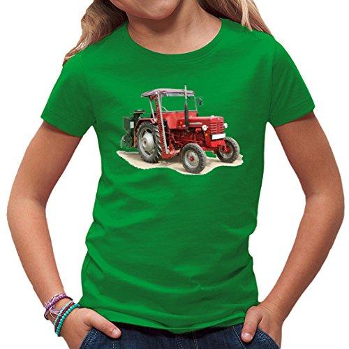Im-Shirt Traktoren Kinder T Oldtimer Traktor McCormick by Kelly Green Kinder 3-4 Jahre