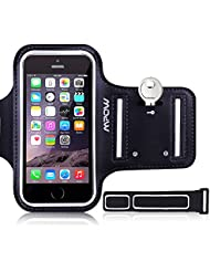 Mpow Running Sweat-Free Armband + Key Holder for iPhone 5/5S/5C/SE, iPod Touch 5, with Adjustable size, Safey Design, Suitable for Gym, Running, Biking, Hiking, Horseback Riding, Jogging