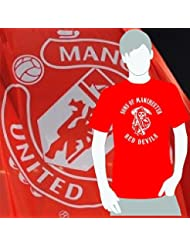 World of Football T-Shirt Sons of Manchester red devils rot - 164