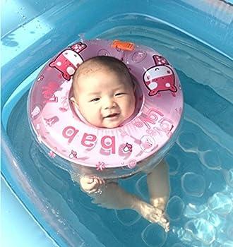 Infant Schwimmen Schwimmring Aufblasbar Ring-sicherheit, Gzqes, Sitz Aufblasbar Pool Schwimmen Ring Für Bebe, Rosa 2