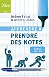 Apprendre à prendre des notes (Librio Mémo) (French Edition)
