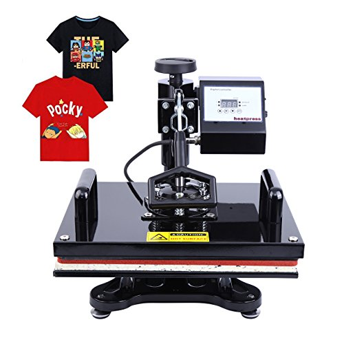 Ridgeyard Digital Swing auswärts T-shirt Foto Hitze Presse Maschine Sublimation Transferdruck 39.5x31.5cm