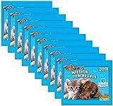 Panini - Amici Cucciolotti Mission Tierfreunde 2017 - Sammelsticker 10 Booster Packungen 50 Sticker - Deutsche Ausgabe