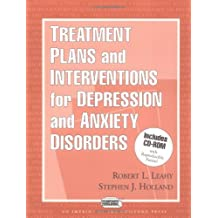 Treatment Plans and Interventions for Depression and Anxiety Disorders [With CDROM] (Clinician's Toolbox)
