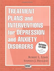 Treatment Plans and Interventions for Depression and Anxiety Disorders (Clinician's Toolbox)