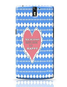 PosterGuy OnePlus One Cover Heart Printed Quote Phone Cover