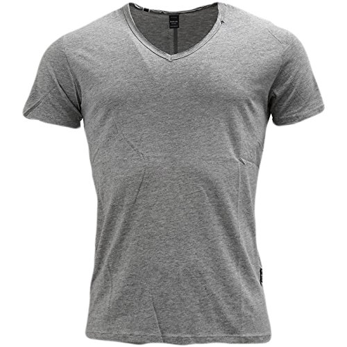 Replay -  T-shirt - T-shirt  - Basic - Maniche corte  - Uomo Grey X-Large