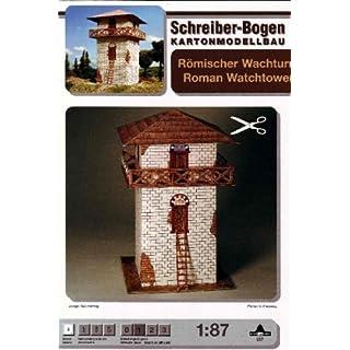 Aue-Verlag 8 x 8 x 13 cm Roman Watchtower Model Kit