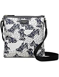 ce23d73c2ee3 Radley Folk Floral Dog Medium Zip Top Cross Body Bag - MEDIUM
