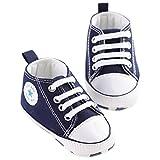 QZBAOSHU Säuglingskleinkind erste Wanderer schuhe weiche untere Segeltuch-Schuhe für Baby-Mädchen-Baby-Jungen