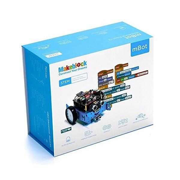 51xnx%2BNEN4L. SS600  - Makeblock - Robot Educativo MBOT, V1.1, Bluetooth