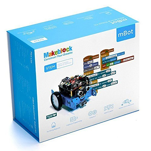 51xnx%2BNEN4L - Makeblock - Robot Educativo MBOT, V1.1, Bluetooth