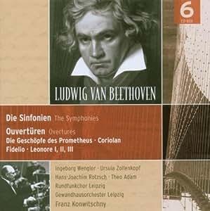 Coffret 6 CD - Beethoven - Les 9 symphonies