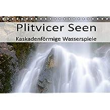 Plitvicer Seen - Kaskadenförmige Wasserspiele (Tischkalender 2019 DIN A5 quer): Erleben Sie die Plitvicer Seen, eine einzigartige Landschaft und das ... (Monatskalender, 14 Seiten ) (CALVENDO Natur)