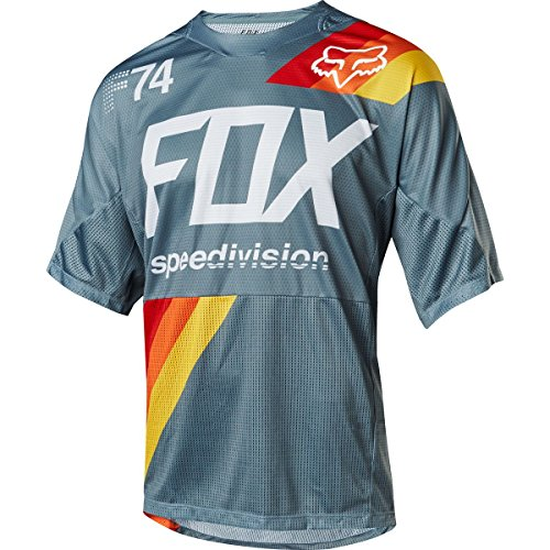 Fox Demo SS Drafter Jersey, Blue, Taille M