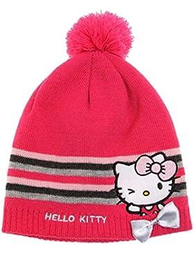 Hello Kitty Mädchen Mütze - pink