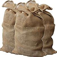 GardenMate 3X Bolsas de Arpillera Premium 135 x 65 cm 340gsm