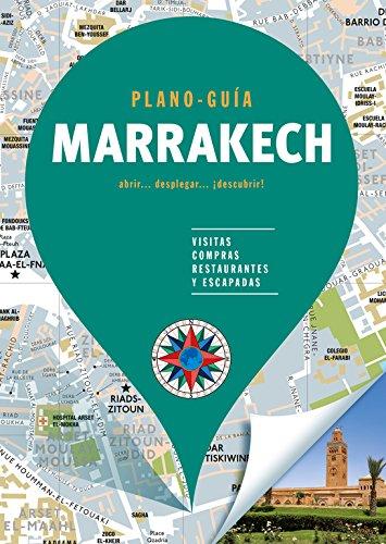 Marrakech (Plano - Guía): Visitas, compras, restaurantes y escapadas (Plano - Guías) por Autores Gallimard Autores Gallimard