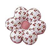 Pastoral Sofakissen Sitzpolster Stuhlauflagen Tatami Kissen, Erdbeere Blume