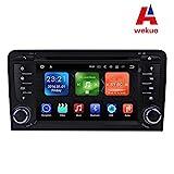 wekuo 17,8cm Android 7.12G RAM Auto DVD Player GPS für Audi A3S320032004–20102011Autoradio Stereo Haupteinheit Tape Recorder Unterstützung