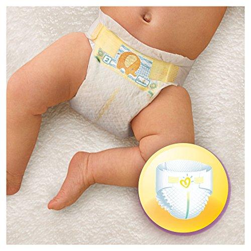 Pampers Windeln New Baby Gr. 1 Newborn 2-5 kg Tragepack, 4er Pack (4 x 23 Stück) - 3