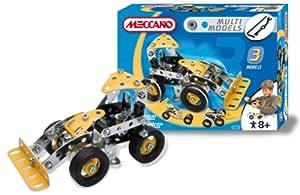 Meccano - 832520 - Jeu de Construction - Pelleteuse - 3 Modèles