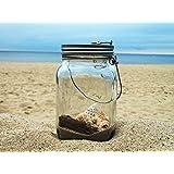 Sun Jar–Lámpara LED solar de en tarro de cristal para balcón, terraza y jardín. El regalo ...